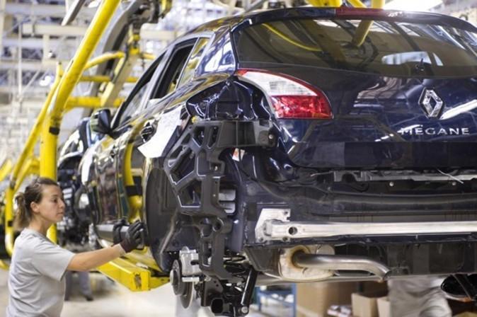Fábrica de Renault en Palencia