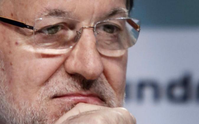 El presidente del Gobierno, Mariano Rajoy, el pasado día 30 de mayo...