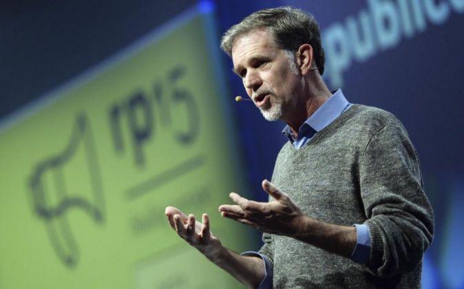 El director ejecutivo de Netflix, Reed Hastings.