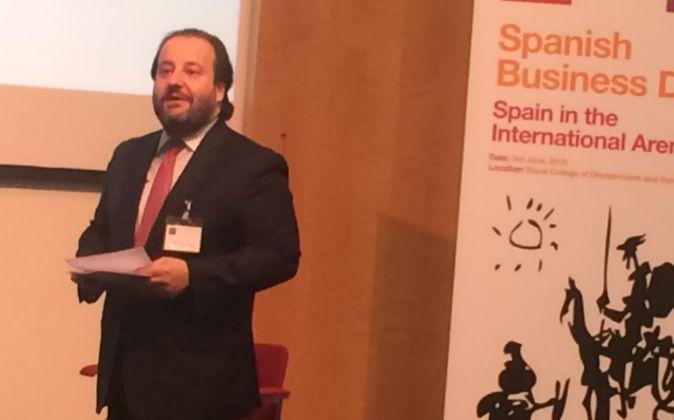 Víctor Matarranz, director de Estrategia de Santander y jefe de...