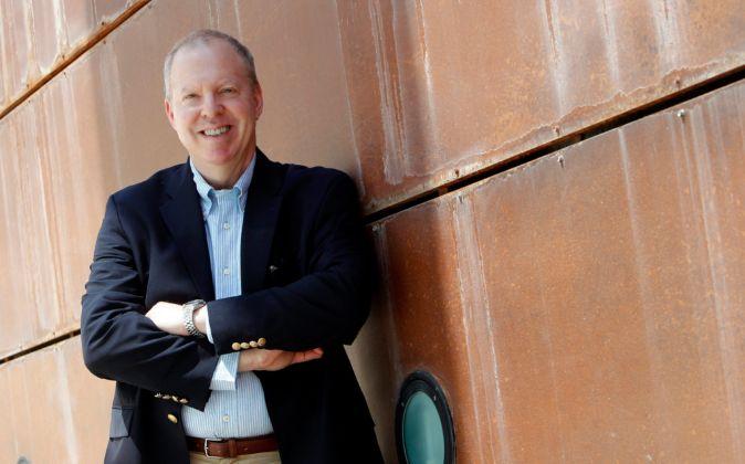 Marc Frons, hace unos días, en las oficinas madrileñas de Mobile...