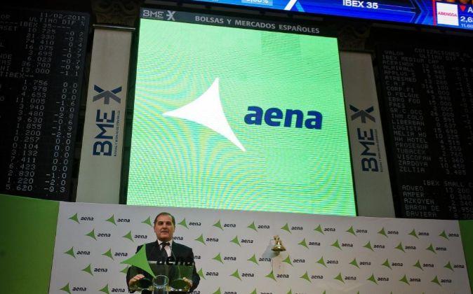 El presidente de Aena, José Manuel Vargas, el día de la salida a...