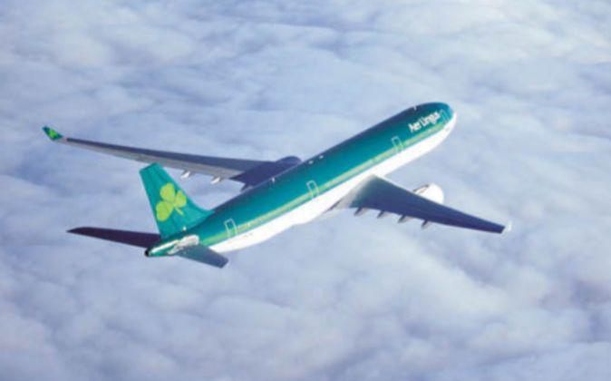 Avión de Aer Lingus.
