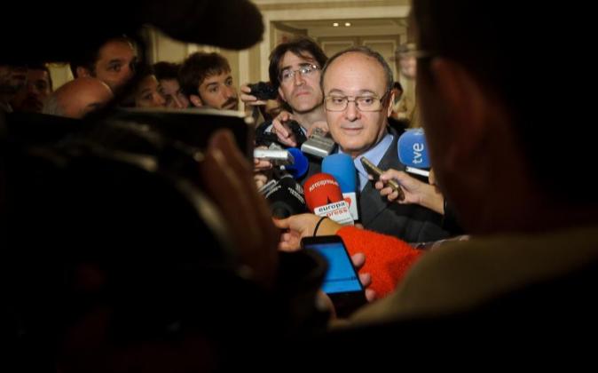 Luis María Linde, gobernador del Banco de España, en una imagen de...