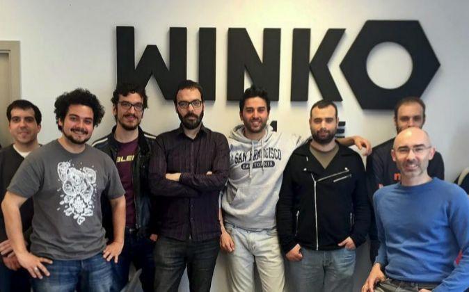 El equipo de Winko Games está formado por diez personas que trabajan...