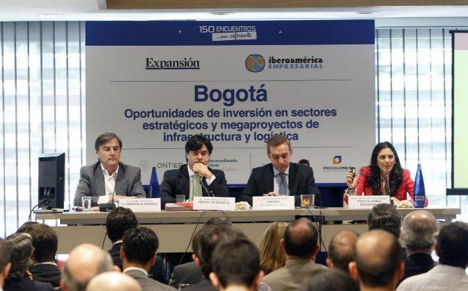 Fotos Foro Iberoamericano Empresarial Bogota. Foto: P. Davila