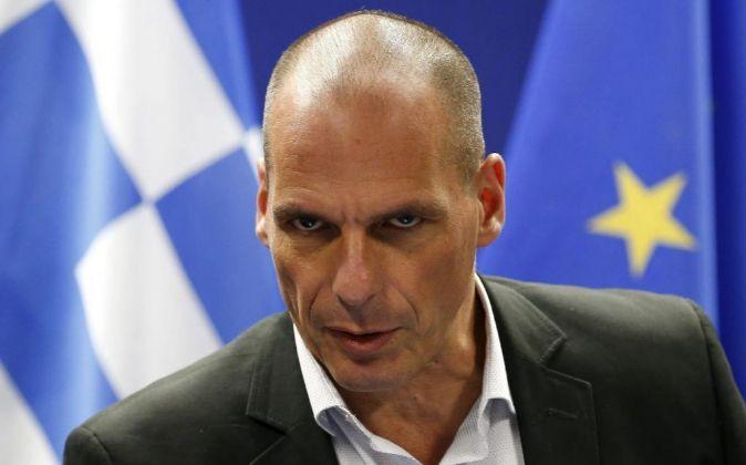 El ministro de Finanzas griego, Yanis Varufakis.