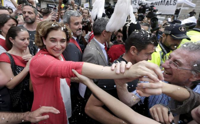 Los alcaldes 'ligados' a Podemos gestionarán 8.000 millones cada año