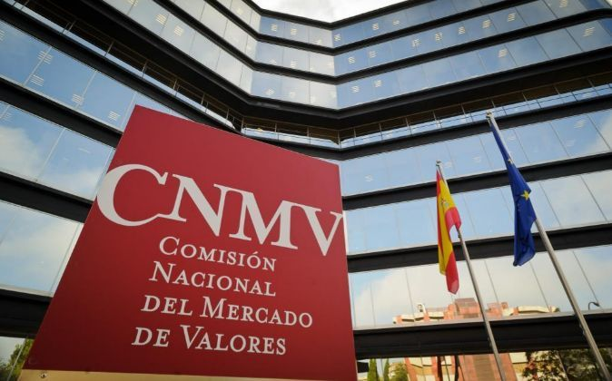 Imagen de la sede de la CNMV en Madrid