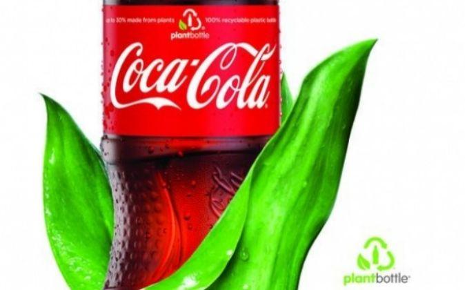 Nueva botella PlantBottel de Coaca-Cola.