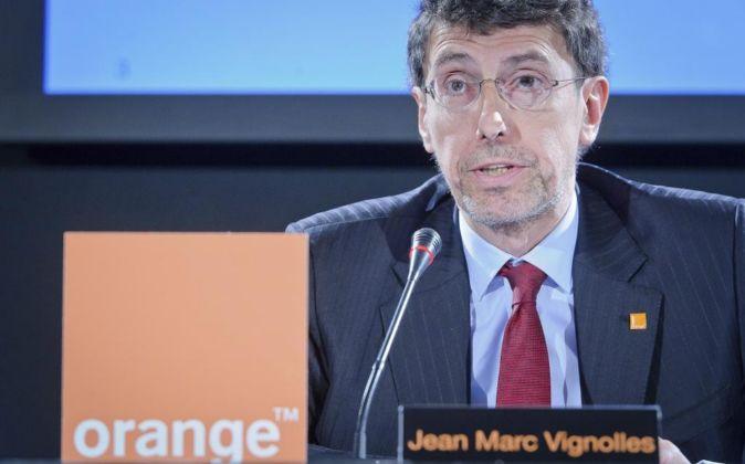 Jean Marc Vignolles, consejero delegado de Orange en España.