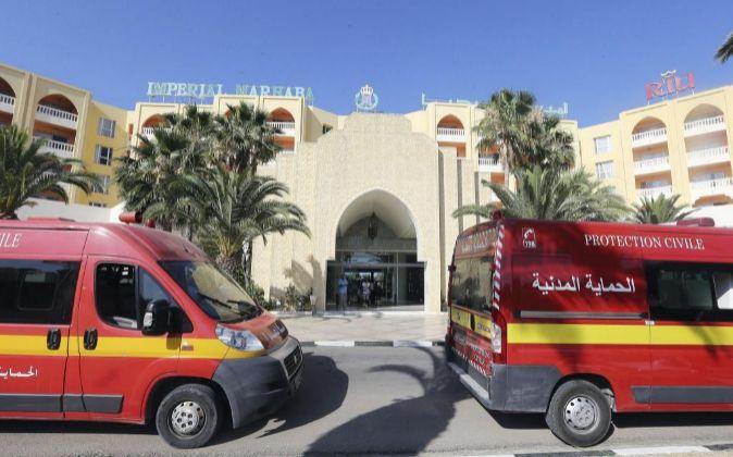 El Hotel RIU Imperial Marbaha, donde se produjo el atentado.