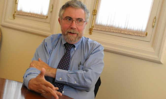 El economista, Paul Krugman.