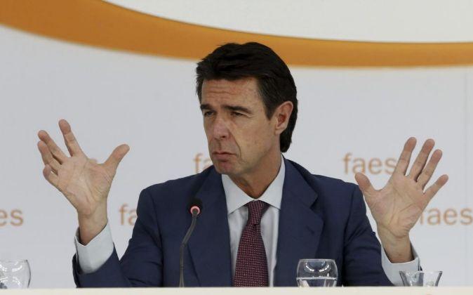 El ministro de Industria, Energía y Turismo, José Manuel Soria.