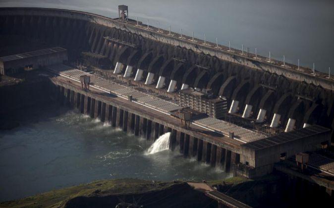 Central hidroeléctrica.