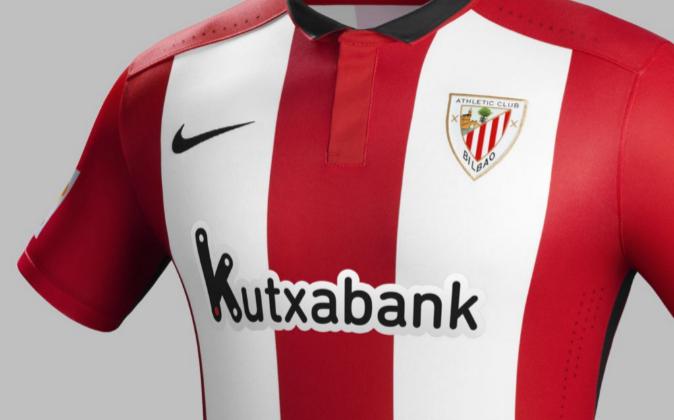 fe3f83879eab0 Kutxabank sustituye a Petronor en la camiseta del Athletic