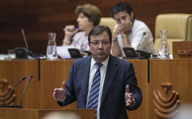 Guillermo Fernández Vara, nuevo presidente de la Junta de Extremadura