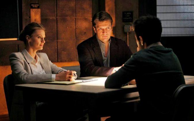 El arte de la entrevista. En la imagen los protagonistas de la serie...