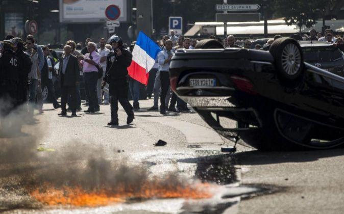 Las manifestaciones en contra de la empresa americana colapsaron...