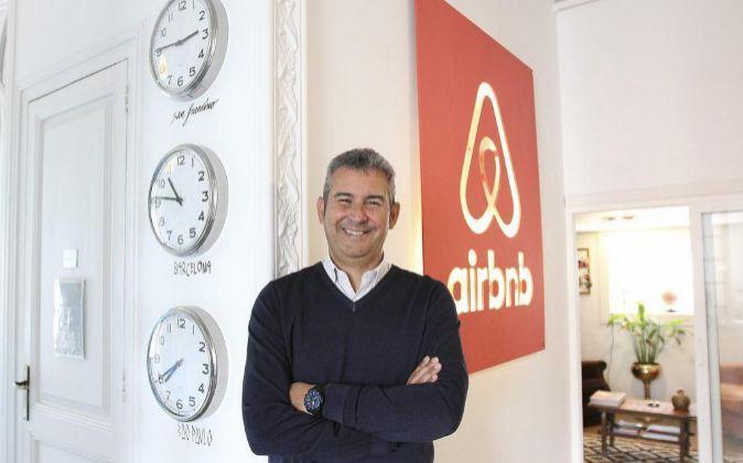 Arnaldo Muñoz, Director general de Airbnb para España y Portugal