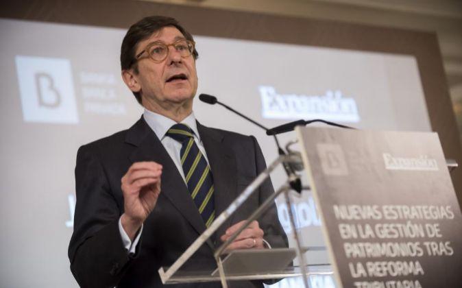El presidente de Bankia, José Ignacio Goirrigolzarri