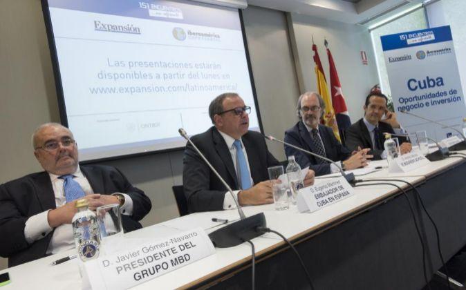 El exministro de Comercio y presidente del Grupo MBD, Javier...