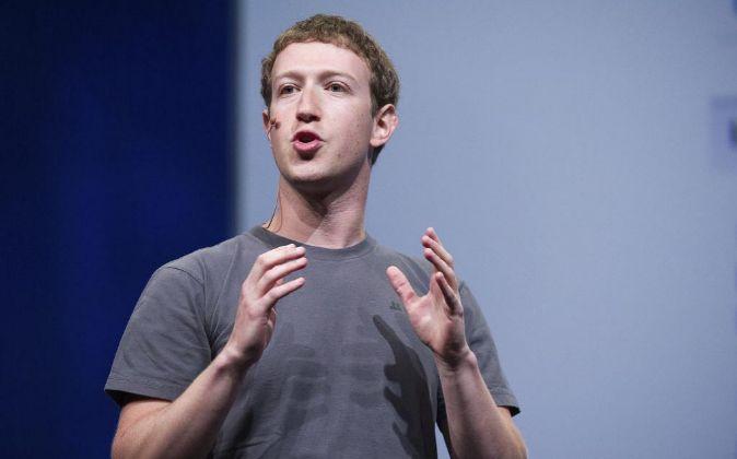 Mark Zuckerberg, CEO y fundador de Facebook.