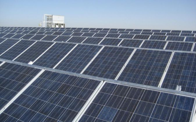 Planta fotovoltaica de Gamesa en Córdoba.