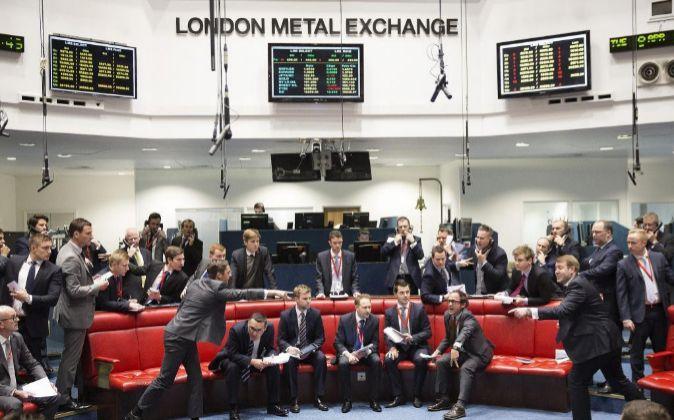 Imagen de archivo de la Bolsa de Metales de Londres