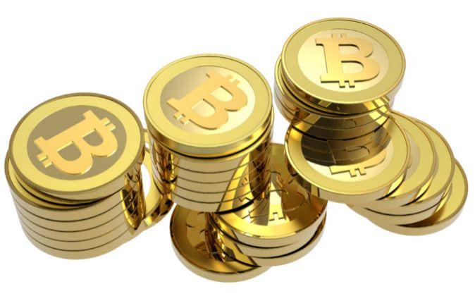 Bitcoins, moneda virtual.