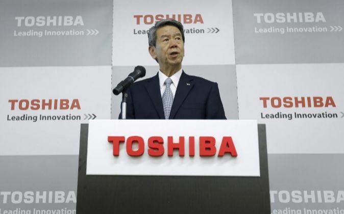 Hisao Tanaka, actual CEO de Toshiba