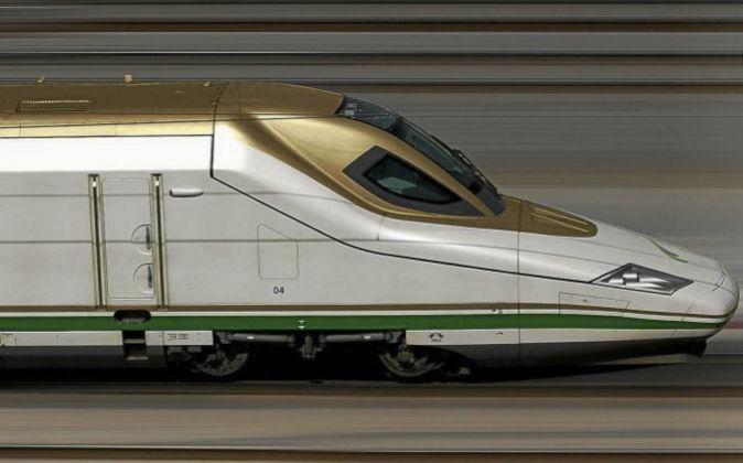 Tren Talgo 350.