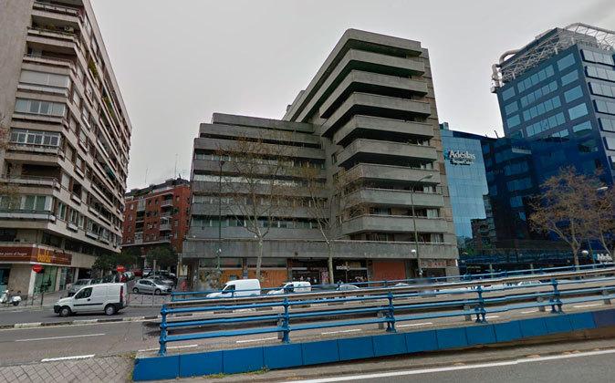 Edificio adquirido por Colonial en la calle Príncipe de Vergara, 112.