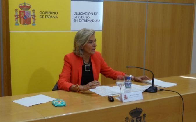 Cristina Herrera, delegada del Gobierno en Extremadura