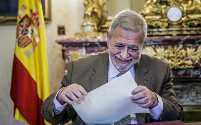 El secretario de Estado de Administraciones Públicas, Antonio Beteta,...