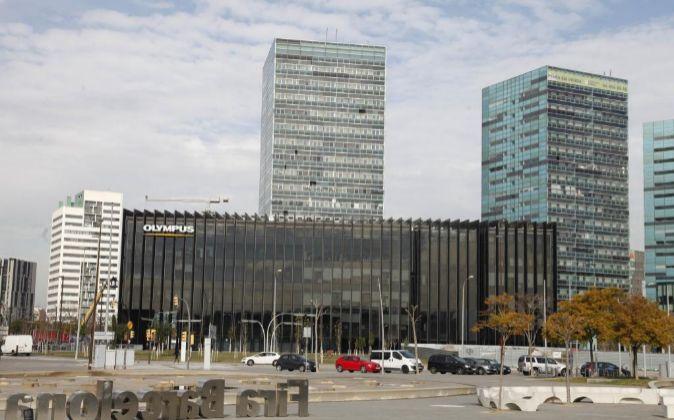 Oficinas en la plaza Europa de Barcelona.
