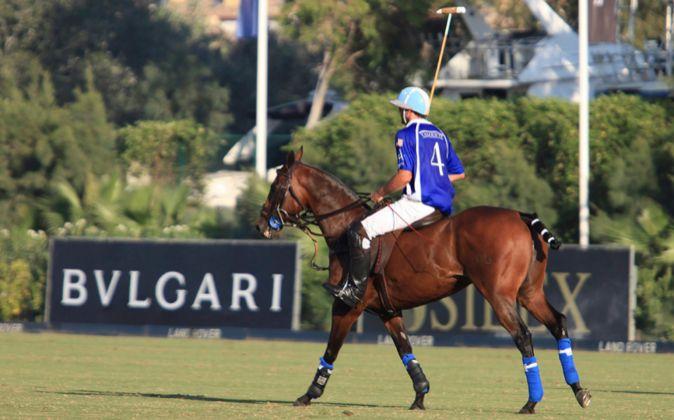El jugador argentino Adolfo Cambiaso es un habitual en Sotogrande.