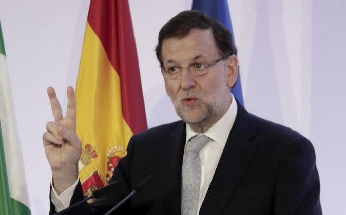 El presidente del Gobierno, Mariano Rajoy, presenta hoy los PGE.
