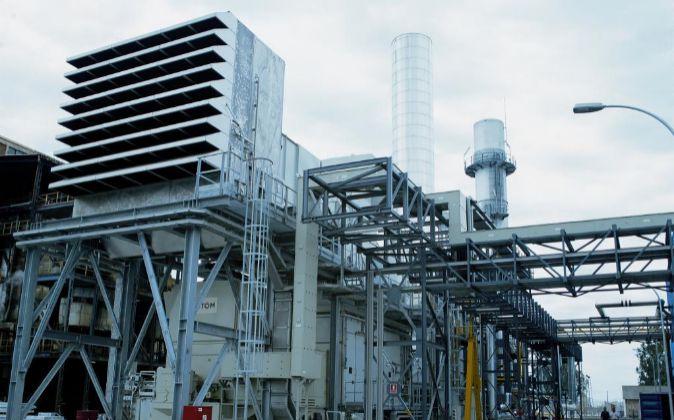 Planta de cogeneración energética que utilizaba Torraspapel en su...