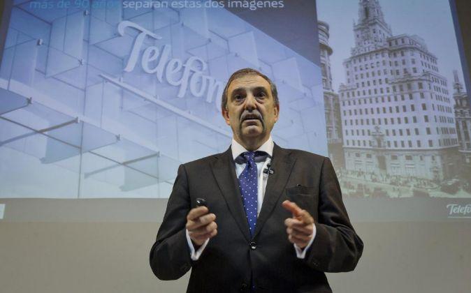 Luis Miguel Gilpérez, presidente de Telefónica de España.