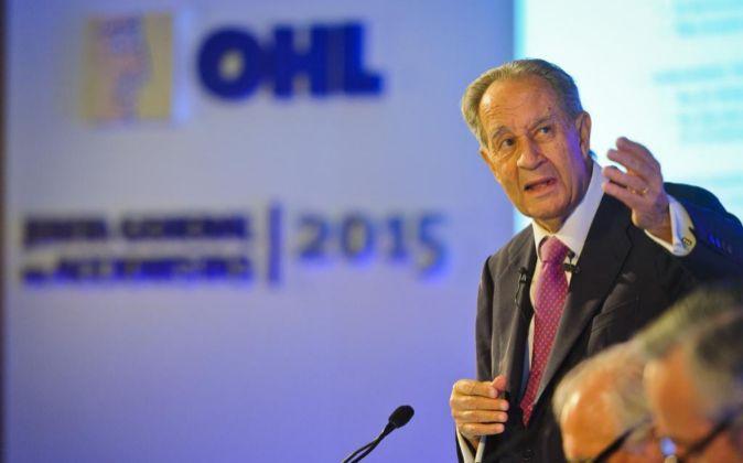 Juan Miguel Villar Mir es el presidente de OHL