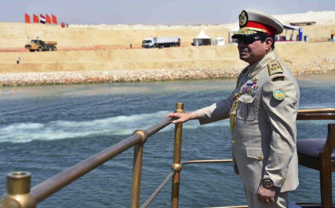 Abdel Fatah al Sisi, presidente de Egipto