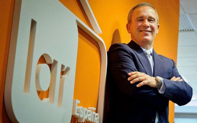 José Luis del Valle, presidente de Lar España Real Estate