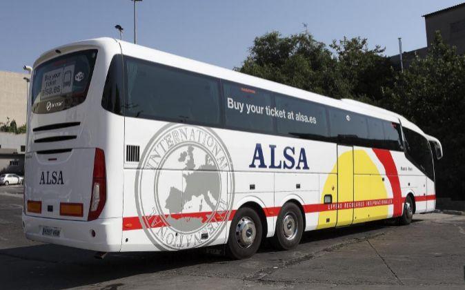 Autobús de Alsa.