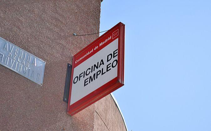 Oficina de Empleo en Fuenlabrada (Madrid).