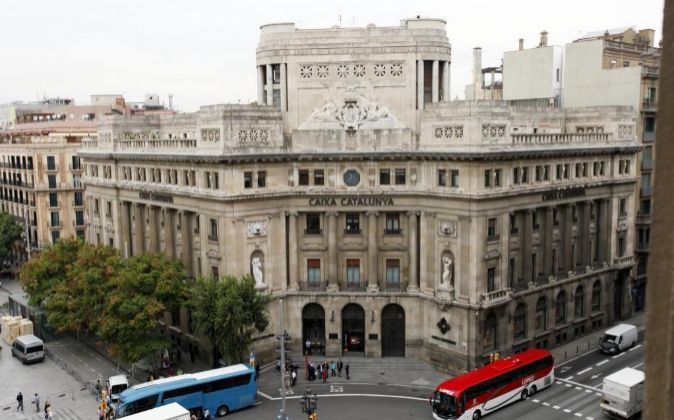 Sede de Catalunya Banca en Barcelona.