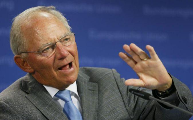 El ministro de Economía alemán, Wolfgang Schaeuble.