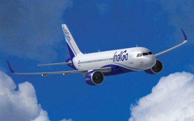 Avión A320neo de Airbus.