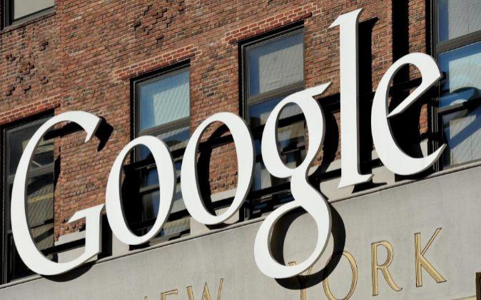Fotografía de archivo que muestra las oficinas de Google en Nueva...