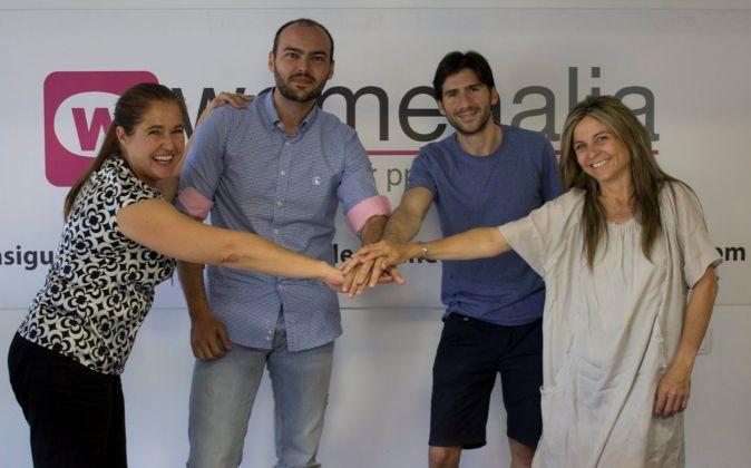 Directivos con trayectoria. Womenalia es una joven empresa que apuesta...